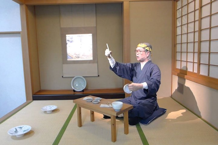 Painting Porcelain in Hasami
