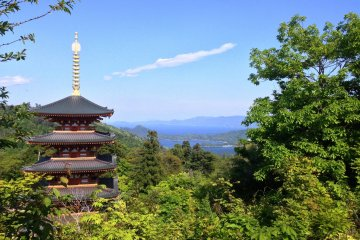 Amanohashidate's Temple - Nariaiji