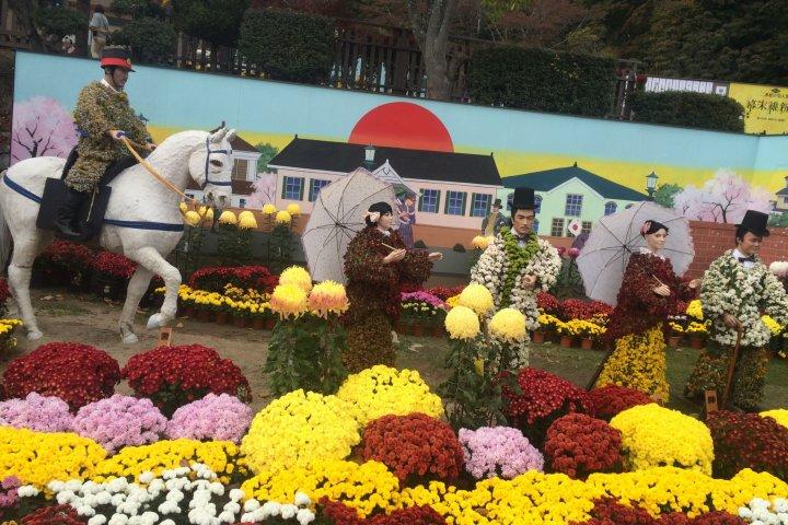 Tohoku Chrysanthemum Doll Exhibit