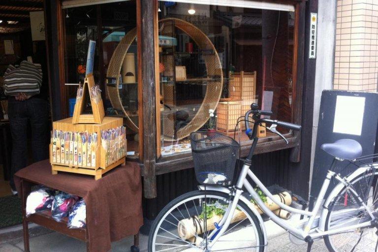 เจ้าแห่งไผ่ใน Teramachi Kyoto