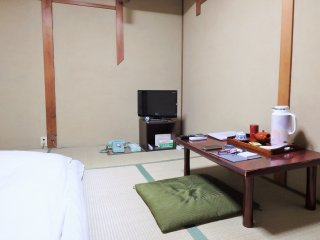 The rooms are equipped with only the basics, but are clean and comfortable.