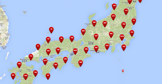Japan Map - Explore our interactive map - Japan Travel