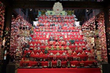 Hina Festival of Inatori Onsen