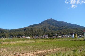 Hiking up Mt. Tsukuba