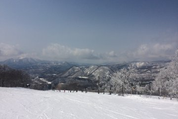 Minowa Snow Resort in Fukushima