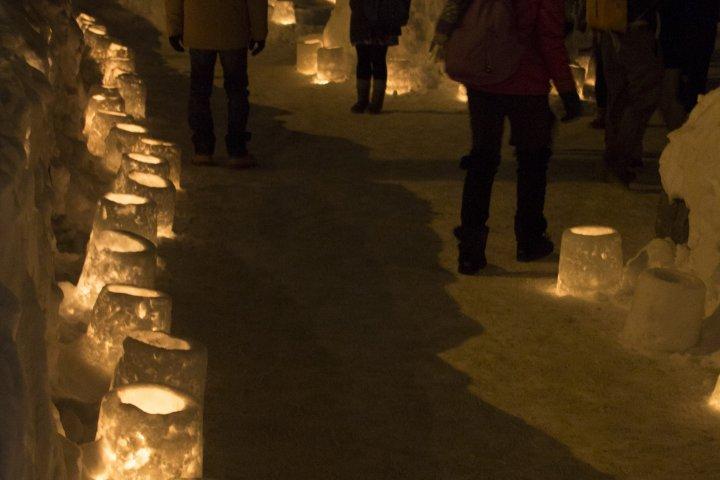 A Romantic Winter Walk