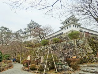 Gujo Hachiman Castle is a modern reconstruction but has a history that dates back centuries