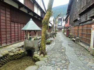 The charming Yanaka Komichi street
