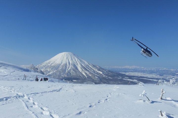 Heli-skiing Niseko, Shiribetsu-Dake