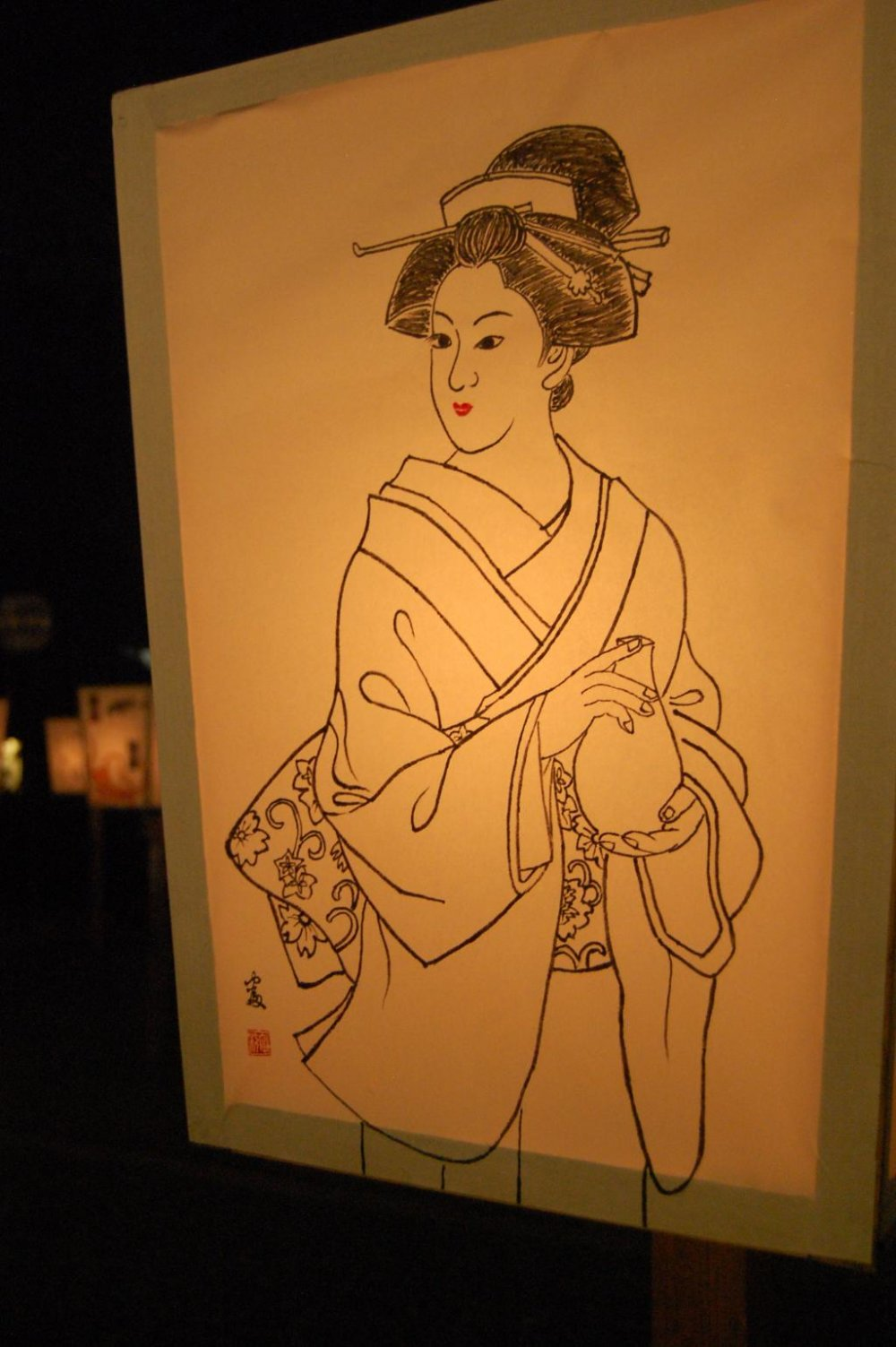 Illuminous Geisha