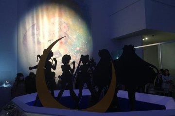 Sailor Moon at Mori Art Museum