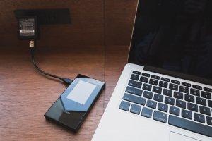 Slim and sleek; easily chargeable via USB