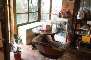 A cosy corner to enjoy one's coffee