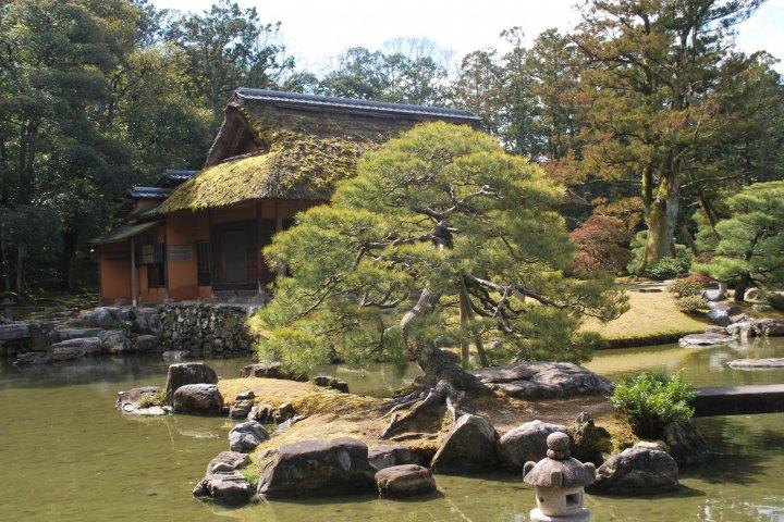 La Villa Impériale Katsura à Kyoto
