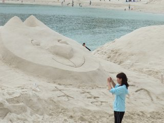 Sand Art Contests are a lot of fun