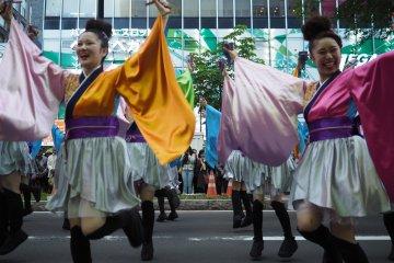 Le Festival Yosakoi de Sapporo