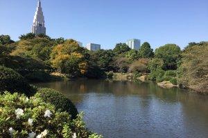 Le parc compte plusieurs étangs et offre un bon bol d'air