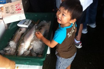 Mitsuhama Morning Fish Market