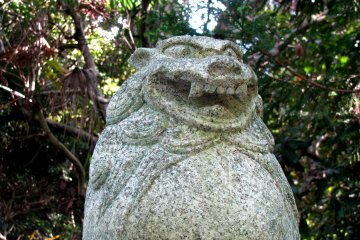 Komainu Lion-like Statues