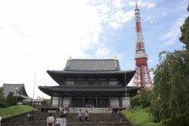 La Tokyo Tower et le Temple Zojo-ji