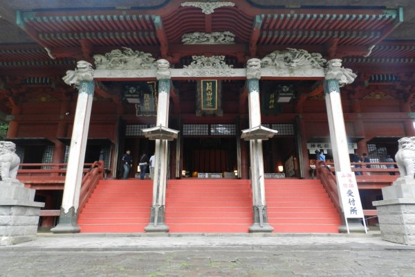 Sanjin-Gosai-den temple at the peak of Mount. Haguro