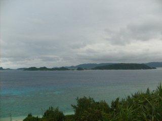 Another view of Nishihama beach