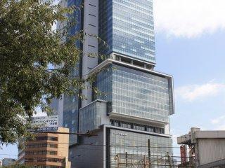 La tour Hikarie depuis Shibuya Crossing