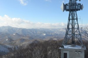 In late November, the first snowfall of the season had already blanketed the summit.