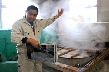 Kanei Sake Brewery Tour in Hadano
