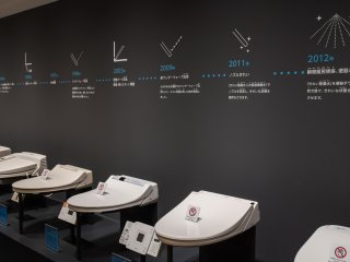 The timeline of the development of the modern toilet