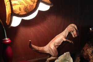 dinosaurs are classier at Uki Cafe