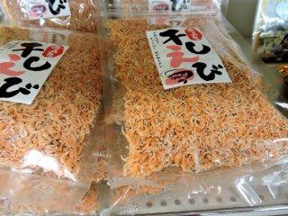 Tiny dried shrimp