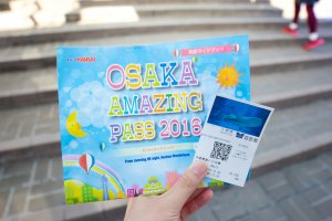 The Osaka Day Pass covers trains, buses, and gives you free entry into most of Osaka's tourist attractions