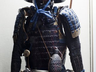 A suit of samurai armor