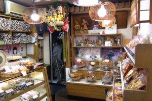 Rice Cracker shop