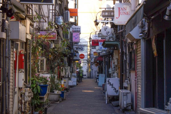 The old charm of Golden Gai
