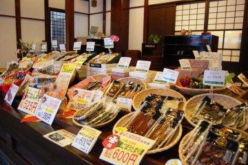 Honcho Pickles in Tsuruoka