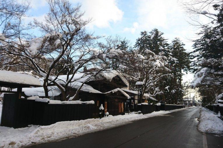 The Akita Nairiku Line in Winter