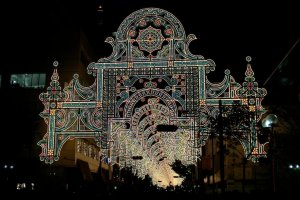 The dazzling lights of Kobe Luminarie