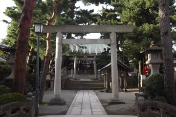 Matsubara Shrine in Odawara
