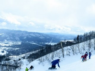 Happo-One has some of the steepest and best terrain in Japan.
