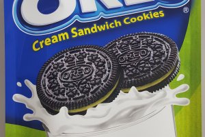 Matcha flavored Oreos - only in Japan.
