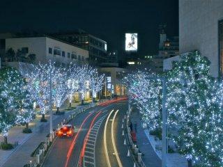 Les illuminations de Roppongi Hill
