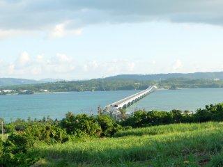 Kouri bridge from afar