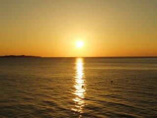 ...and beautiful sunsets!