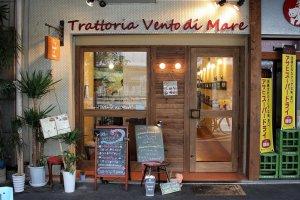 The front of Vento di Mare Trattoria