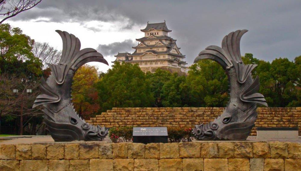 Himeji Castle before the renovation started