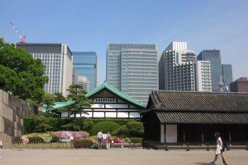 Les Jardins Est du Palais Impérial