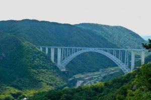 Mihara has some stunning mountain views