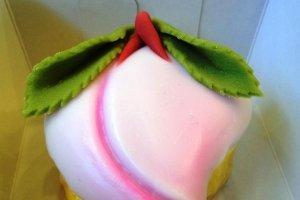 Bunmeido's special peach castella